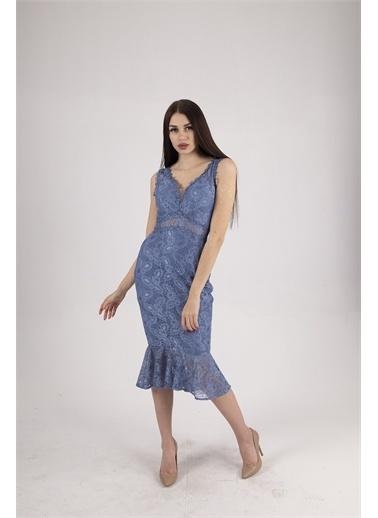 Belamore  Abiye & Mezuniyet Elbisesi İndigo